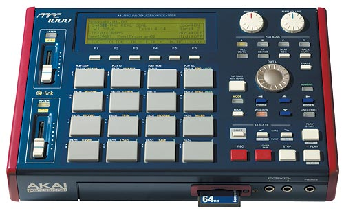 AKAI MPC1000 SAMPLING MUSIC PRODUCTION STATION